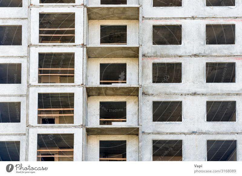 Wolkenkratzer im Bau Häusliches Leben Wohnung Haus Hausbau Renovieren Arbeit & Erwerbstätigkeit Arbeitsplatz Industrie Baustelle Business Hochhaus Ruine Gebäude