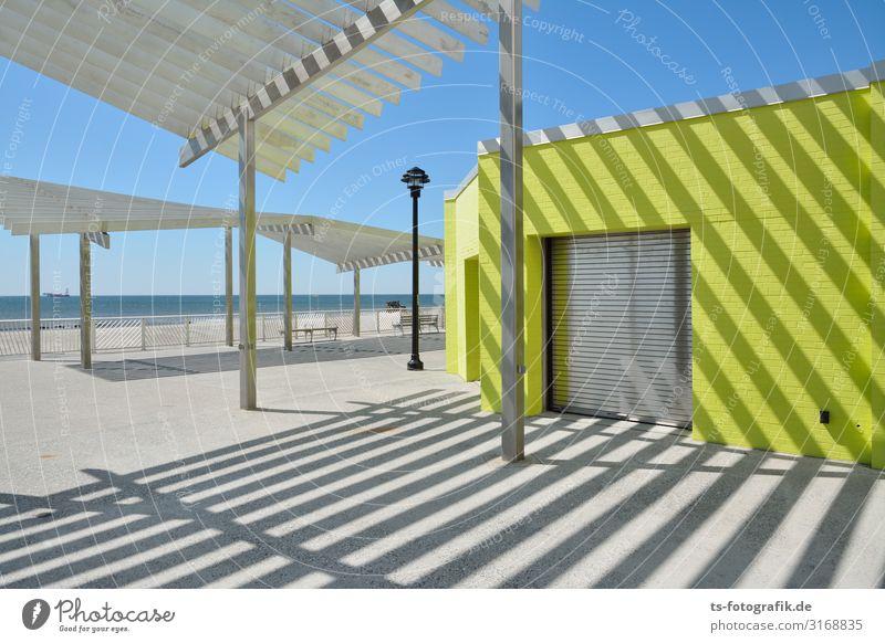 Rock- Rock- Rockaway Beach Ferien & Urlaub & Reisen Tourismus Ausflug Sommer Sommerurlaub Sonne Strand Meer Himmel New York City USA Stadtrand Menschenleer