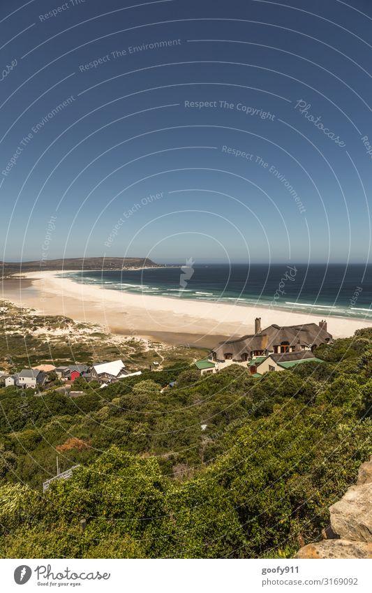 Wohnen am Strand Ferien & Urlaub & Reisen Ausflug Abenteuer Ferne Freiheit Safari Expedition Umwelt Natur Landschaft Wasser Himmel Wolkenloser Himmel Horizont