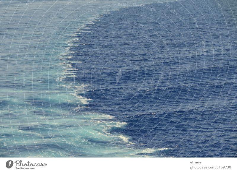 Schiff fahren Ferien & Urlaub & Reisen blau Wasser Meer Freude Bewegung Tourismus Ausflug Design träumen Wellen Abenteuer Energie Geschwindigkeit nass