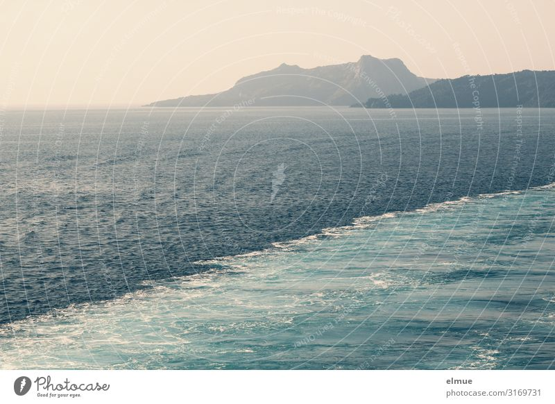 noch mehr Mittelmeer Ferien & Urlaub & Reisen Natur blau Wasser Meer Erholung Küste Bewegung Glück Ausflug Design Horizont Wetter Wellen Abenteuer Romantik