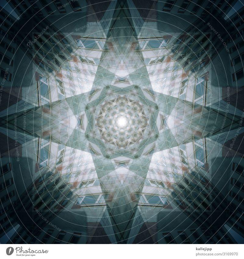 *2 Weihnachten & Advent Anti-Weihnachten Architektur Gebäude Kirche Kreativität Stern Stern (Symbol) Symbole & Metaphern Doppelbelichtung Christentum