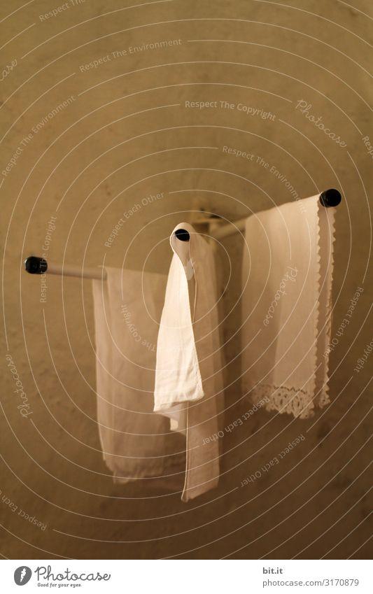 Dreiklang l leise Geräusche des wandernden Lichts. Handtuch Stange Handtuchhalter Halter Stoff Stofftücher Kirche Bad Häusliches Leben Sauberkeit Körperpflege