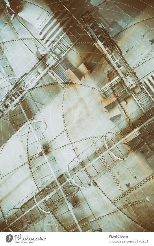Stahlwerk künstlerisch Architektur Lifestyle Stil Gebäude Kunst Tourismus grau Stimmung Design Energiewirtschaft verrückt Industrie Bauwerk trashig Arbeitsplatz