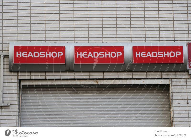 Alles für den Kopf Lifestyle Stil Design Häusliches Leben Büro Wirtschaft Handel Stadt Haus Bauwerk Gebäude Architektur Mauer Wand Fassade lesen verrückt weiß