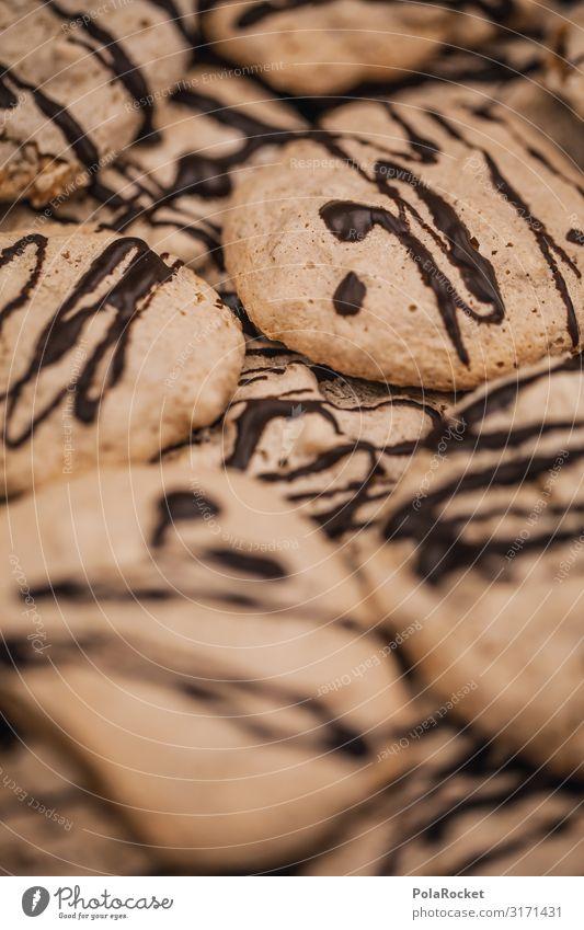 #A0# Schoko-Kekse I Kunst Kunstwerk ästhetisch Weihnachten & Advent Plätzchen viele Schokolade Süßwaren Farbfoto Gedeckte Farben Innenaufnahme Detailaufnahme