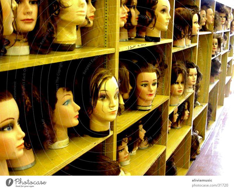 Crazy Heads Quadrat Fischauge Low Light Wide angle Face Hair