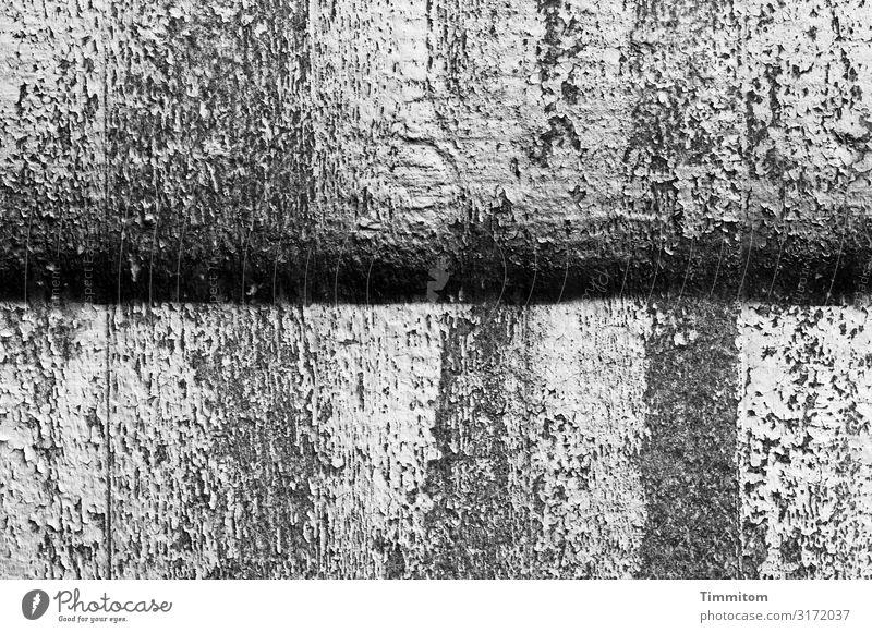 Arbeitsfläche, grau Beton Kunststoff Linie schwarz weiß gestalten Untergrund Werkplatte Schwarzweißfoto Innenaufnahme Menschenleer Tag
