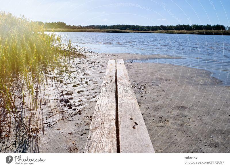 Heilsee mit Jod und Mineralien Ferien & Urlaub & Reisen Tourismus Sommer Sonne Umwelt Natur Landschaft Pflanze Sand Himmel Baum Gras Blatt Park Wald Teich See