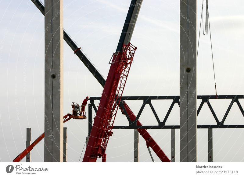 Konstruktion Architektur Business Arbeit & Erwerbstätigkeit Technik & Technologie Zukunft Industrie Beton Baustelle Güterverkehr & Logistik Bauwerk Team Beruf