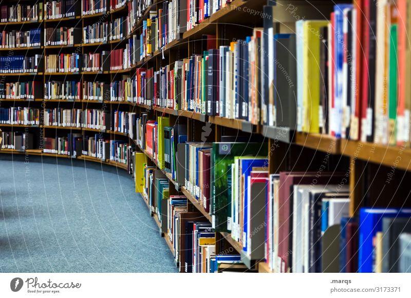 Bibliothek lernen Buch Studium lesen Erwachsenenbildung viele Bildung
