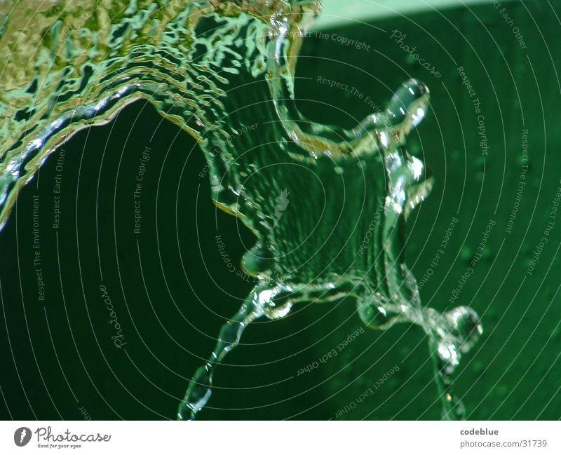 suspektal grün entstehen Franse dunkelgrün Deformation Morphing
