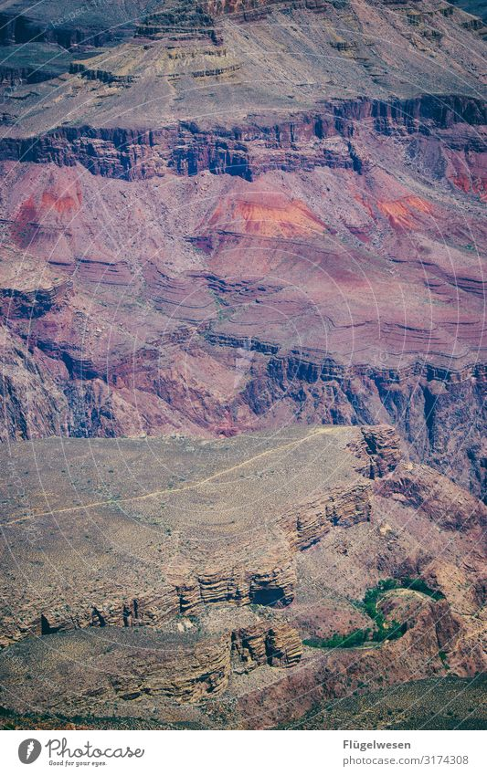 Grand Canyon III USA Nationalpark Staat Grand Canyon Mississippi Colorado River bunt Felsen Berge u. Gebirge Bergkette Herbst gigantisch Erfahrung Urlaub