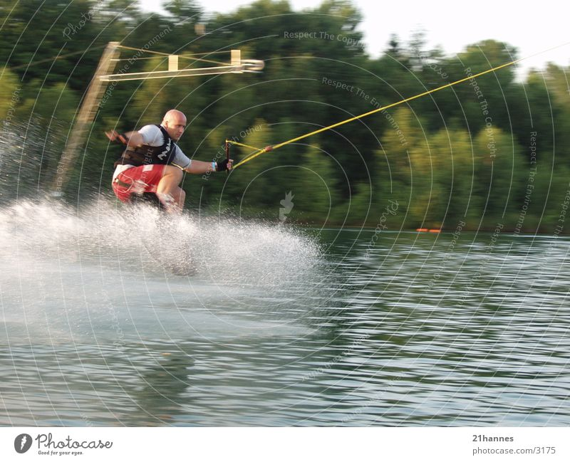 water.skiing Sport Wasser waterski waterskiing fun