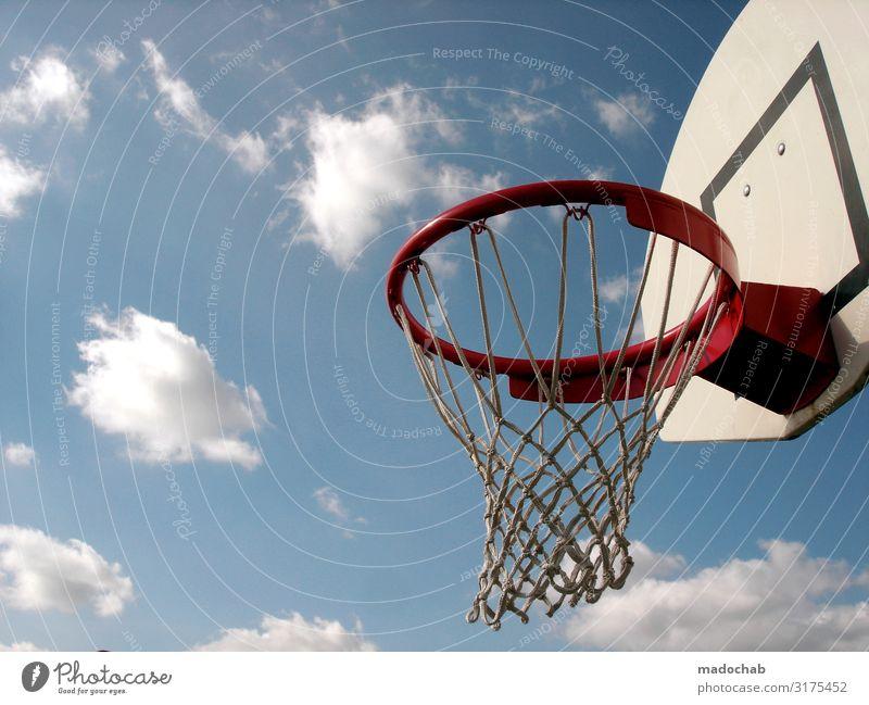 Basketball Lifestyle Gesundheit sportlich Fitness Freizeit & Hobby Spielen Freiheit Sport Sport-Training Ballsport Basketballkorb Sportstätten Bewegung