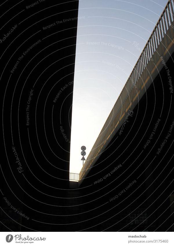 |/ Stadt Brücke Tunnel Bauwerk Gebäude Architektur Verkehr Verkehrswege Personenverkehr Autofahren Straße Straßenkreuzung Autobahn Hochstraße Zeichen