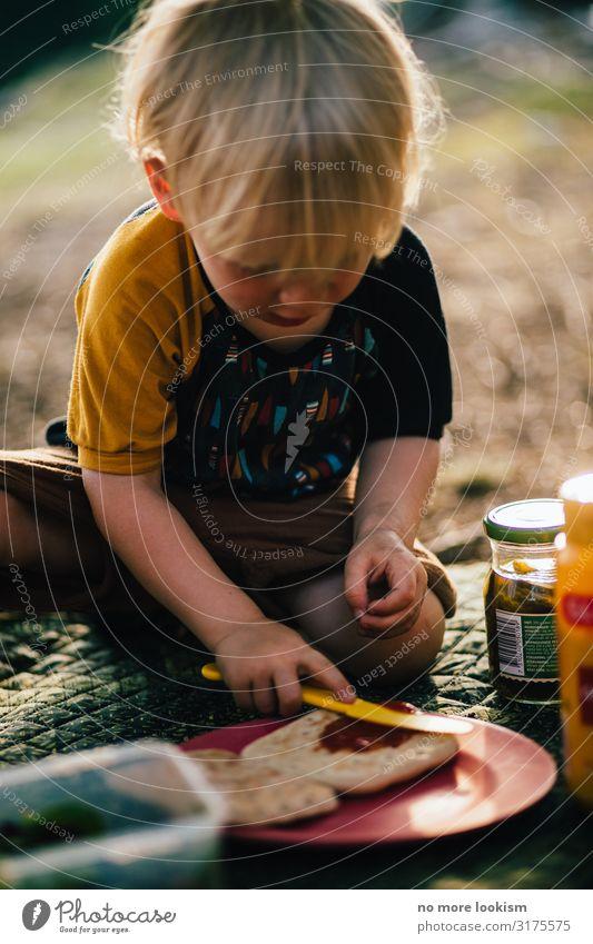 let me just put a bit of bread to the jelly Lebensmittel Teigwaren Backwaren Marmelade Ernährung Frühstück Büffet Brunch Picknick Vegetarische Ernährung