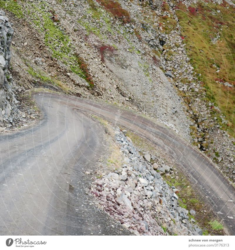 wegmarken Natur Pflanze Landschaft Berge u. Gebirge Straße Umwelt Wege & Pfade Felsen Sand wandern Verkehr Wetter Idylle einzigartig Alpen fahren