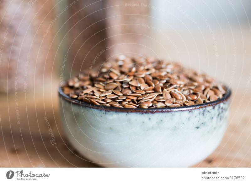 Leinsamen Lebensmittel Ernährung Bioprodukte Vegetarische Ernährung Diät Fasten Schalen & Schüsseln Lifestyle Gesundheit Gesunde Ernährung Wellness Essen
