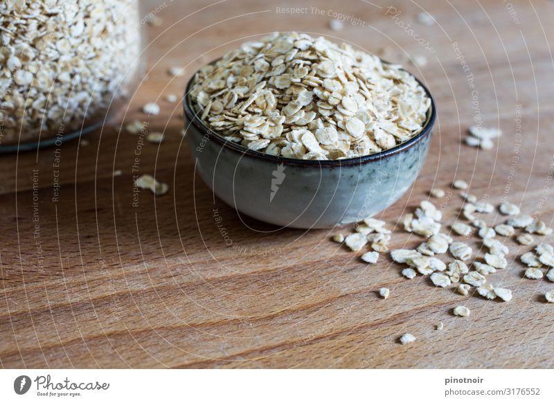 Haferflocken Lebensmittel Getreide Ernährung Frühstück Bioprodukte Vegetarische Ernährung Diät Fasten Wohlgefühl Schalen & Schüsseln Essen Gesundheit trocken