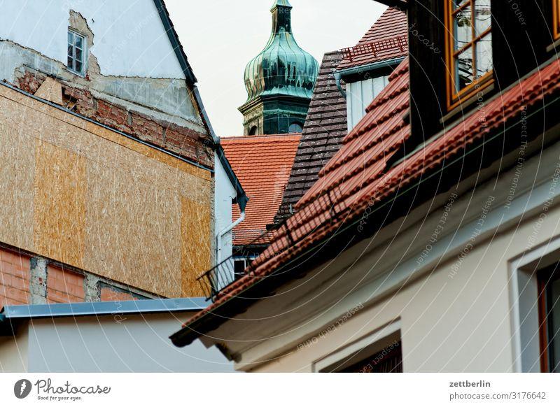 Ortskern Hohnstein Burg oder Schloss Dorf Elbsandsteingebirge Erholung hohnstein Kleinstadt schloß hohnstein Stadt Sächsische Schweiz wandern Dach Haus Wohnhaus