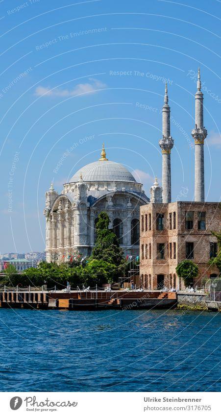 Barock am Bosporus Ferien & Urlaub & Reisen Tourismus Ausflug Sightseeing Städtereise Sommer Istanbul Türkei Asien Stadt Hafenstadt Stadtrand Menschenleer