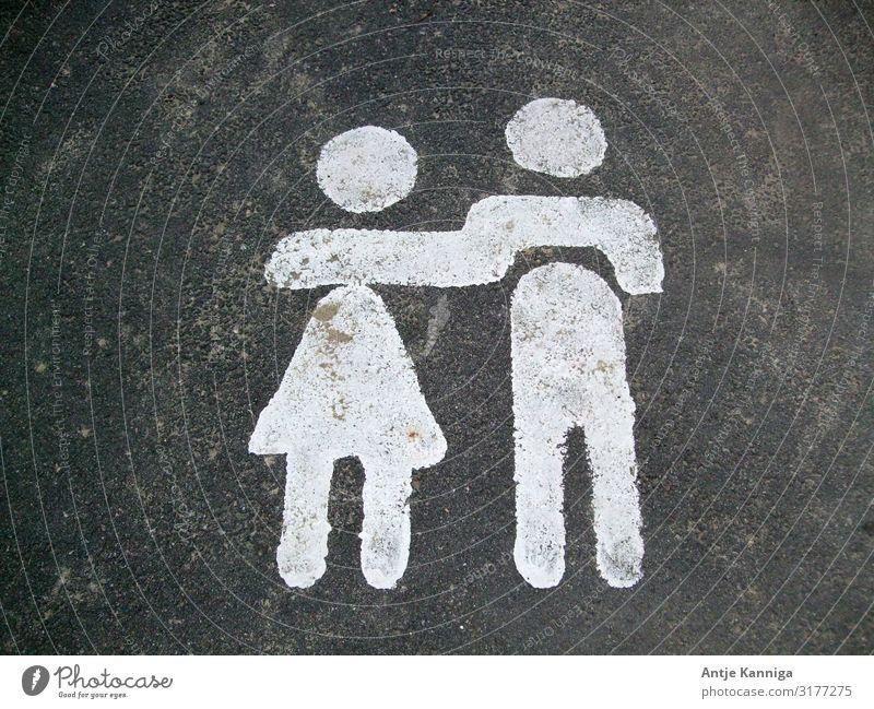 Paar-Laufen Glück harmonisch ausgehen Hochzeit Gesundheitswesen sprechen Team Frau Erwachsene Mann Freundschaft Partner 2 Mensch Fußgänger Zeichen berühren
