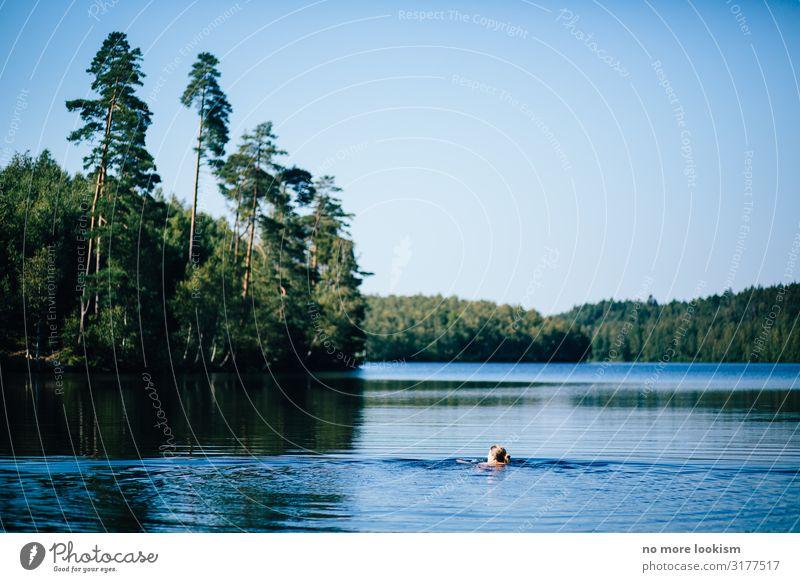 imagine it's black friday and we all spend the day by the lake Ferien & Urlaub & Reisen Tourismus Ausflug Freiheit Sommer Sommerurlaub Wellen Wassersport