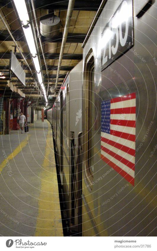 Underground U-Bahn New York City Verkehr
