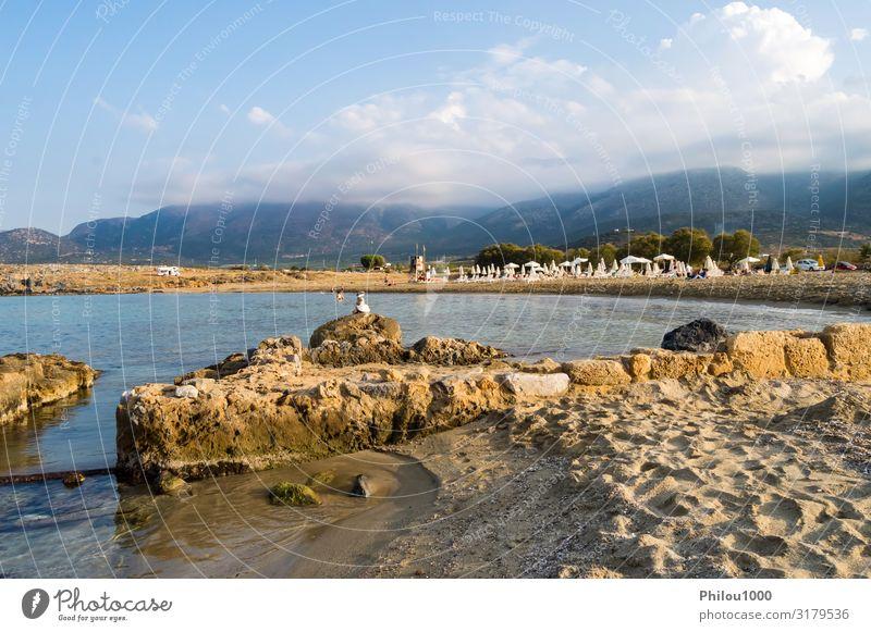 Himmel Ferien & Urlaub & Reisen Natur Sommer blau schön Landschaft Meer Erholung Strand Lifestyle lustig Küste Tourismus Sand Ausflug