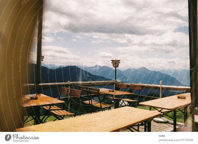 Hört gleich wieder auf... Ferien & Urlaub & Reisen Natur Landschaft Wolken Berge u. Gebirge Umwelt Tourismus Ausflug Freizeit & Hobby Regen wandern Wetter Klima