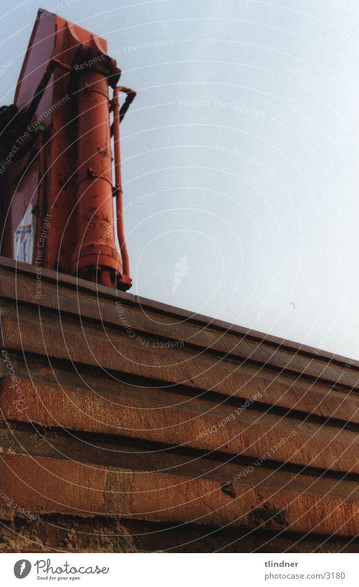 lé machine rot Industrie Rost Maschine Eisen Bagger hydraulisch