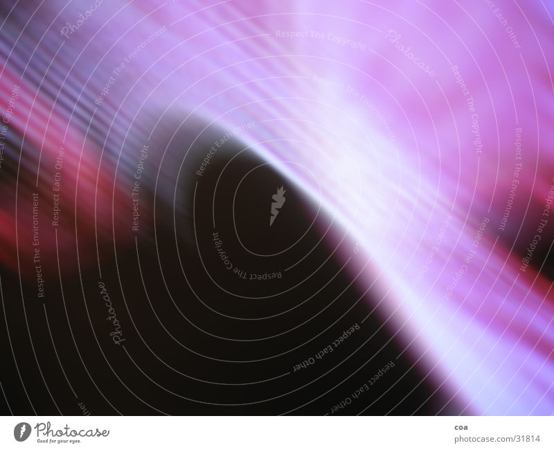die rosa welle schwarz rosa violett Fototechnik