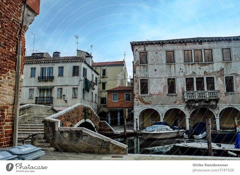 Marode Pracht III Ferien & Urlaub & Reisen Tourismus Ausflug Sightseeing Städtereise Chioggia Italien Europa Dorf Fischerdorf Kleinstadt Stadt Hafenstadt