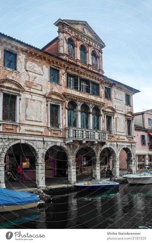 Marode Pracht II Ferien & Urlaub & Reisen Tourismus Sightseeing Städtereise Chioggia Italien Europa Dorf Fischerdorf Kleinstadt Hafenstadt Stadtzentrum Haus