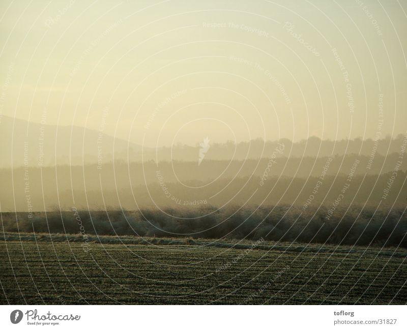 Landschaft Herbst Hügel Schwäbische Alb