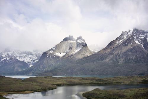 Chile Ferien & Urlaub & Reisen Natur Landschaft Ferne Berge u. Gebirge Umwelt Schnee Küste Tourismus Freiheit Felsen Ausflug wandern Abenteuer Schönes Wetter