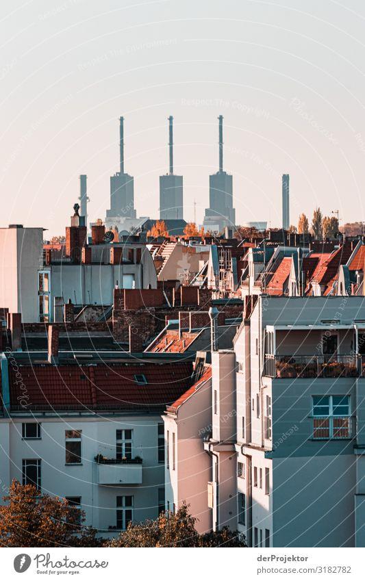 Berlins Panorama – Sicht aus Charlottenburg Ferien & Urlaub & Reisen Tourismus Ausflug Abenteuer Ferne Freiheit Sightseeing Städtereise Haus Hochhaus Bauwerk