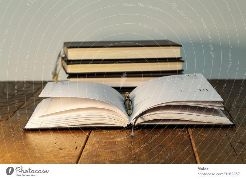 Im Büro Hintergrundbild schwarz Buch Handel Kalender karte Schreibtisch Tagebuch Schriftstück Bildung Menschenleer Isolierung (Material) Zeitschrift Leder Brief