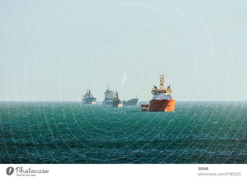 Frachtschiffe Meer Umwelt Natur Wasser Horizont Verkehr Wasserfahrzeug Jachthafen maritim aquatisch Schwarzes Meer Massengutfrachter Bulker Trockenfrachtschiff