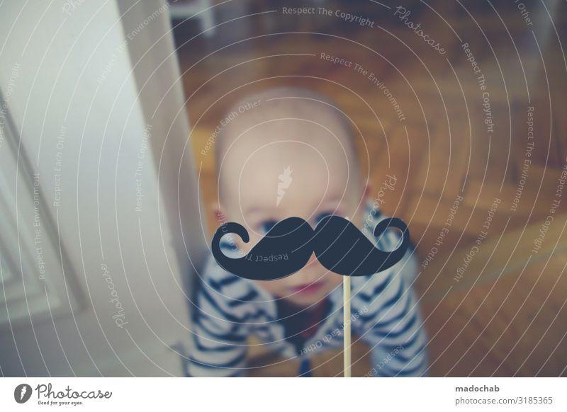 Der frühe Lichter - Baby Kleinkind krabbeln Bart Lifestyle Stil Häusliches Leben Wohnung Innenarchitektur Dekoration & Verzierung Wohnzimmer Mensch 1 ästhetisch