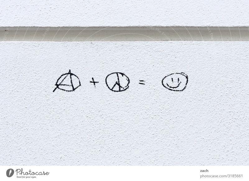 !trash! 2019 | einfache Gleichung Stadt Hauptstadt Stadtzentrum Haus Mauer Wand Fassade Zeichen Schriftzeichen Ornament Graffiti Emoji Smiley Lächeln lachen