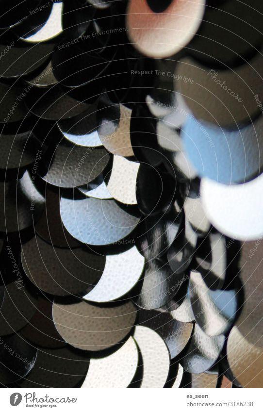 Pailletten Feste & Feiern Silvester u. Neujahr Mode Bekleidung Accessoire Schmuck Dekoration & Verzierung Kitsch Krimskrams glänzend authentisch außergewöhnlich