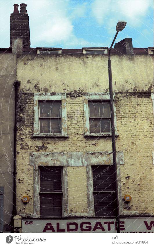 Altes haus verfallen Fenster Gebäude Architektur alt Strukturen & Formen