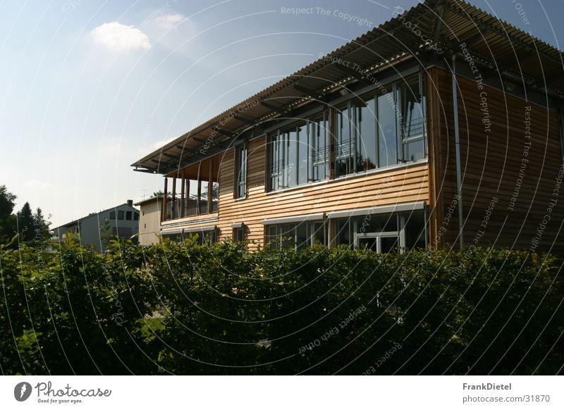 Modernes Holzhaus Architektur modern München Haus Kindergarten Holzhaus
