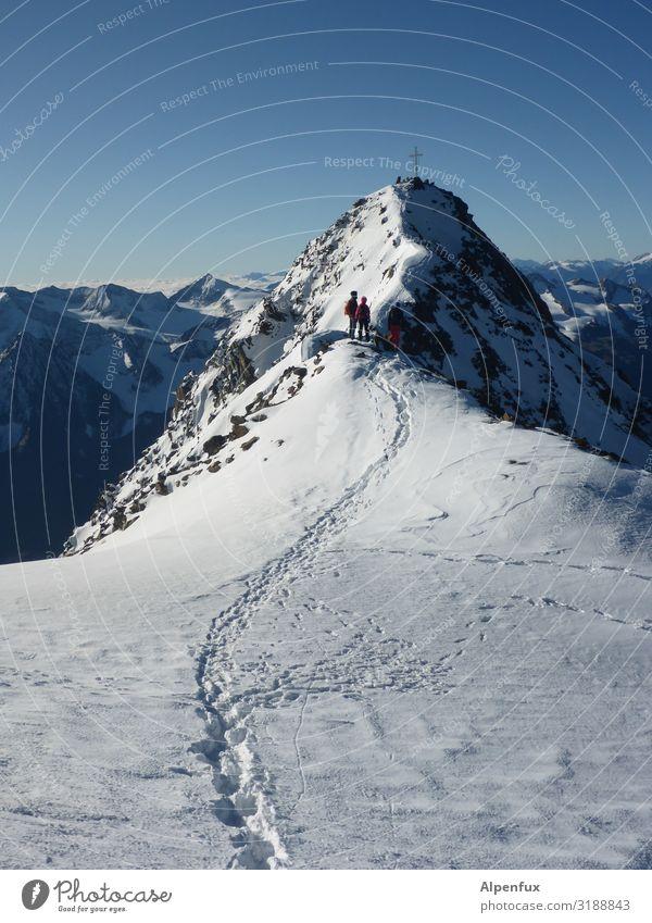 Eiszeit | Wildspitze Umwelt Landschaft Klima Klimawandel Schönes Wetter Frost Hügel Felsen Alpen Berge u. Gebirge Bundesland Tirol Gipfel Schneebedeckte Gipfel