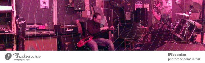 Proberaum Goseburg Musik groß Freizeit & Hobby Schnur Rockmusik Gitarre Panorama (Bildformat) Proberaum