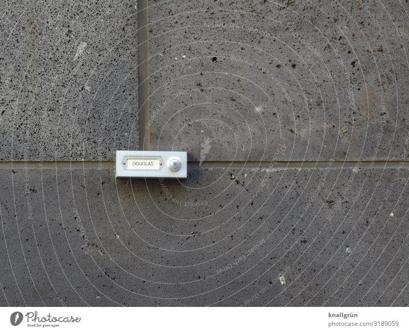 Parfümerie, Hintereingang. weiß Haus Wand Mauer grau Kommunizieren Ladengeschäft silber Klingel