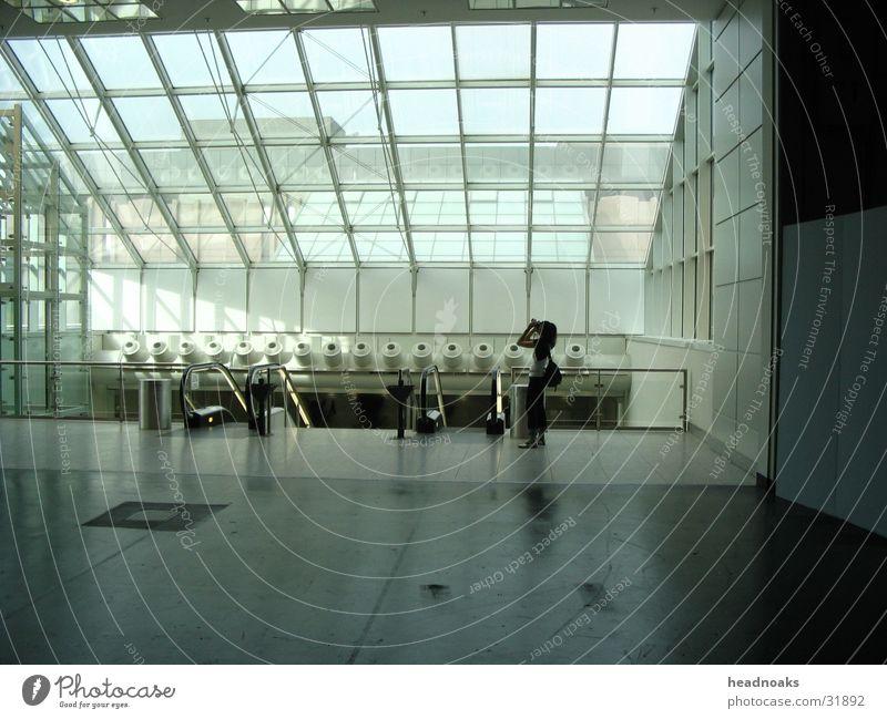 Photokina Mensch Architektur Messe Rolltreppe Glasfassade