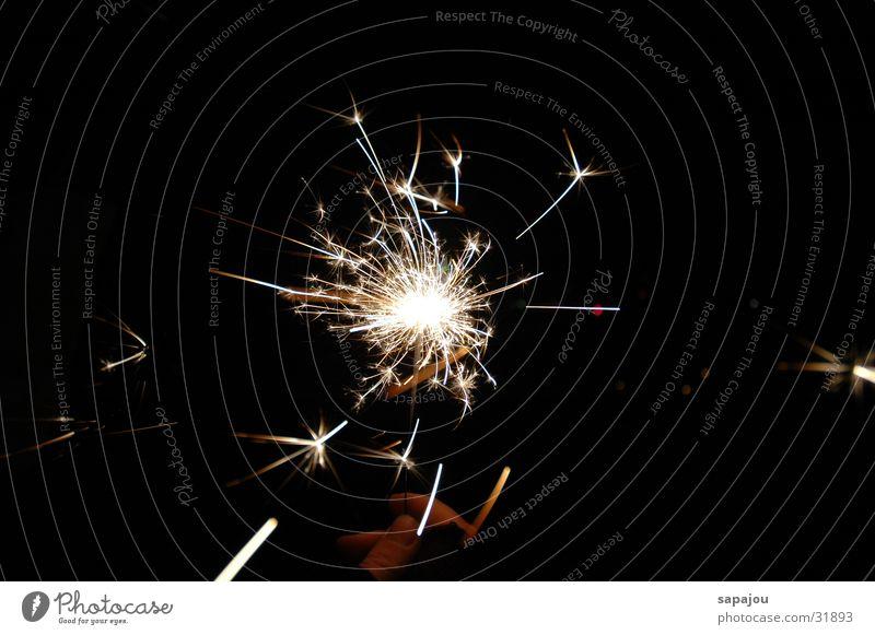 Wunderkerze Nacht Silvester u. Neujahr obskur hell Lampe Feste & Feiern